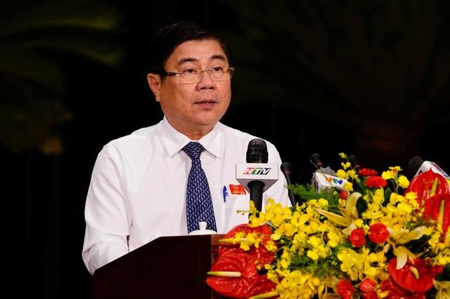Chủ tịch UBND TPHCM Nguyễn Thành Phong nhận định TPHCM đang đứng trước 5 khó khăn, thử thách lớn