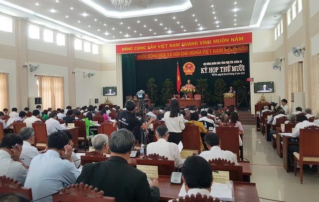 Kỳ họp thứ 10, HĐND tỉnh Phú Yên