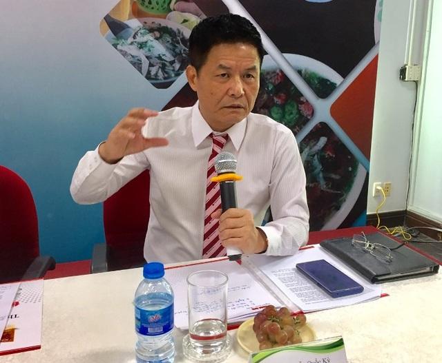Ông Nguyễn Quốc Kỳ, Chủ tịch Hiệp hội Văn hóa Ẩm thực Việt Nam.