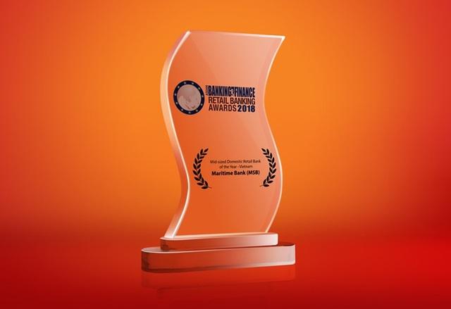 Maritime Bank được bình chọn Ngân hàng bán lẻ tốt nhất Việt Nam 2018 - 1