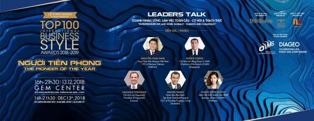 """Mr. Pearce Cheng  - Diễn giả Leader Talk """"Doanh nhân sống và làm việc toàn cầu"""" - 3"""