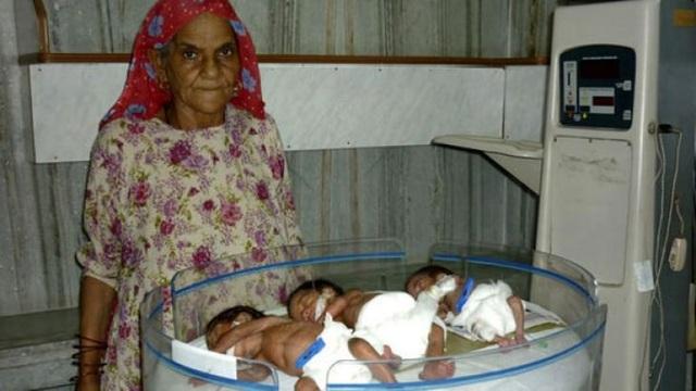 """12 phụ nữ lớn tuổi nhất thế giới vẫn """"liều mạng"""" sinh con - 4"""