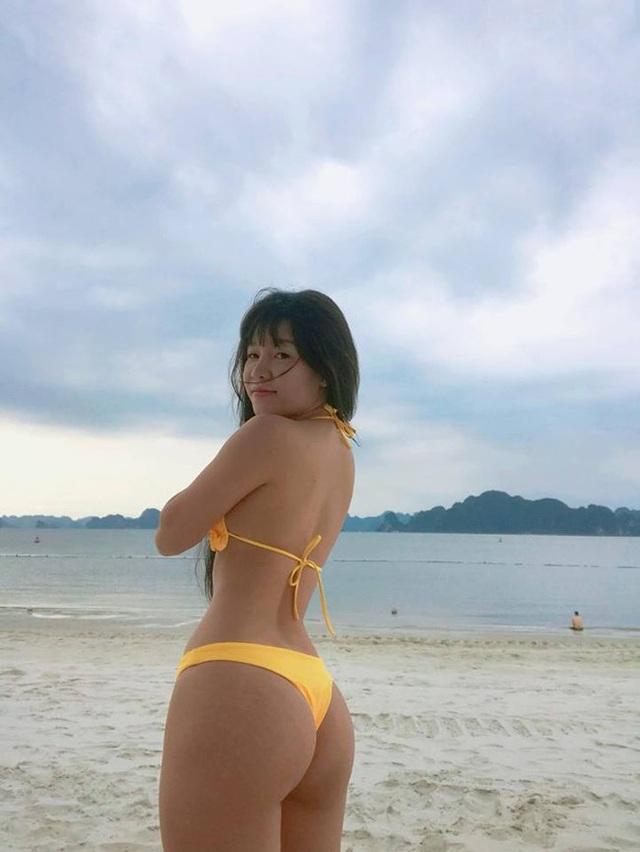 Bạn gái Văn Lâm lột xác ngoạn mục với vòng 3 nổi bật.