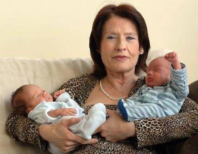"""12 phụ nữ lớn tuổi nhất thế giới vẫn """"liều mạng"""" sinh con - 7"""