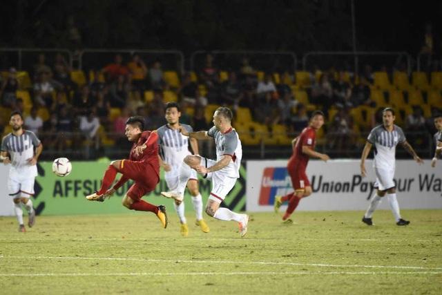 Quang Hải tiếp tục được dâng cao ở trận đấu với Philippines tại Mỹ Đình tối nay
