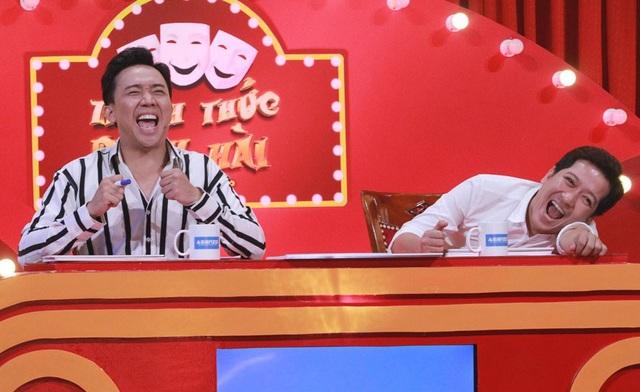 Trấn Thành và Trường Giang cười nghiêng ngã với phần thi của 5 chú tiểu nhóm Bồng Lai