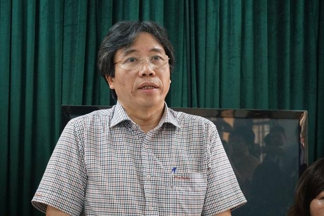 Ông Tạ Ngọc Thắng, Trưởng Phòng GD&ĐT quận Đống Đa: Tôi rất sốc khi có giáo viên của quận vi phạm đạo đức nhà giáo.