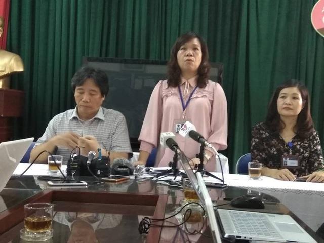 Hiệu trưởng Lê Anh Vân cho biết, dù con lãnh đạo nào cũng bị xử lý nếu có sai phạm.
