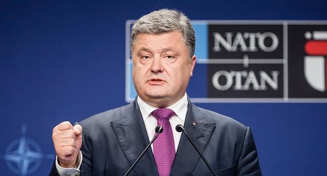 Tổng thống Ukraine Poroshenko (Ảnh: Sputnik)