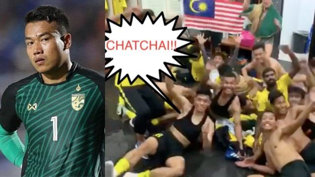 Các cầu thủ Malaysia chế nhạo Chatchai Budprom