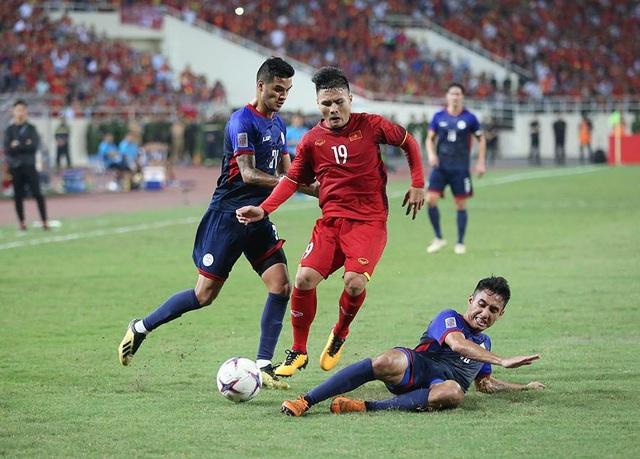 Quang Hải là ứng cừ viên sáng giá nhất cho danh hiệu Quả bóng vàng Việt Nam 2018 (ảnh: Huyền Trang)