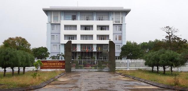 Trụ sở Ban quản lý Khu Kinh tế mở Chu Lai, nơi ông Diện làm Trưởng Ban