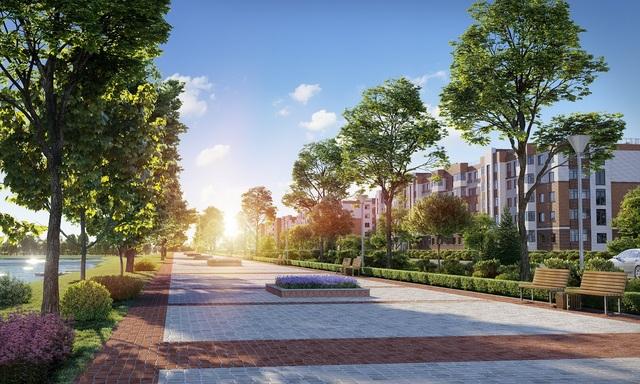 """Botanic Garden được coi là """"lá phổi xanh"""" của toàn khu đô thị"""