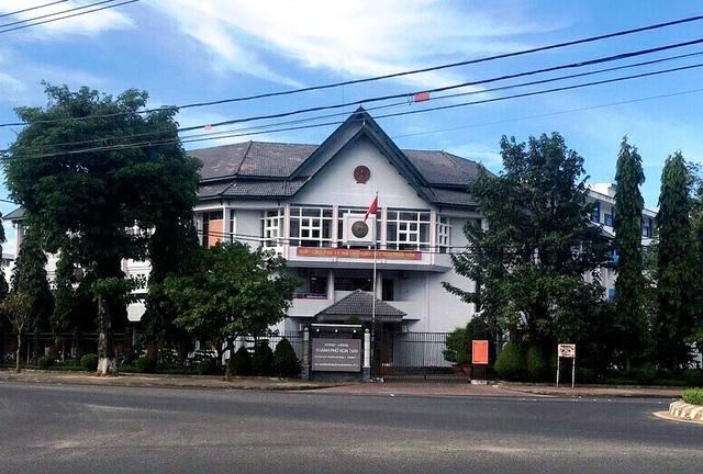 Trụ sở UBND TP. Kon Tum