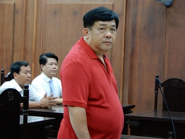 Bị cáo Đào Tấn Cường tại phiên tòa