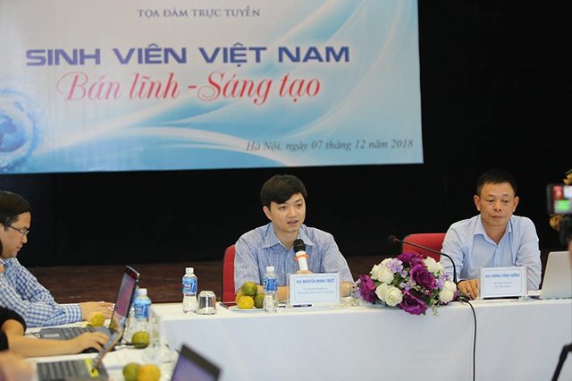 Nguyễn Minh Triết, Trưởng Ban Thanh niên trường học Trung ương Đoàn, Phó Chủ tịch thường trực Trung ương Hội Sinh viên Việt Nam