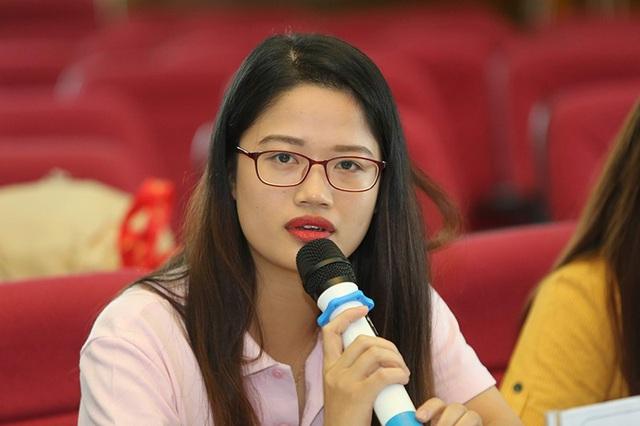 Lê Thị Hồng Nhung, Chủ tịch Hội Sinh viên Học viện Tài chính