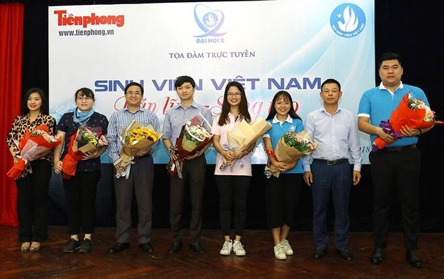 """Toạ đàm trực tuyến """"Sinh viên Việt Nam: Bản lĩnh - sáng tạo"""""""