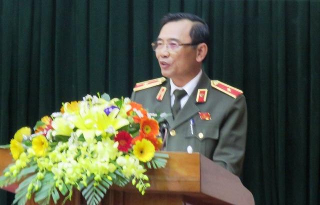 """Thiếu tướng Từ Hồng Sơn, Giám đốc Công an tỉnh Quảng Bình cho biết, hoạt động """"tín dụng đen"""" trên địa bàn đang gây nhiều hệ lụy xấu cho xã hội."""