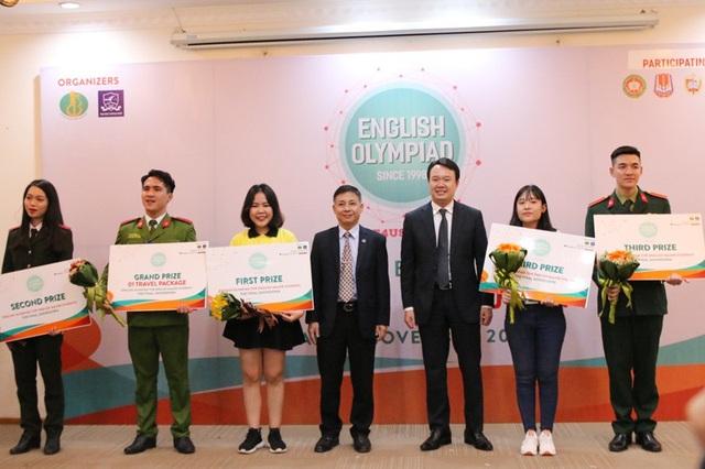 Các giải thưởng được trao cho 5 đội chơi tại Vòng chung kết toàn quốc.