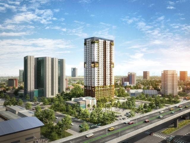 FLC Green Apartment tọa lạc tại phường Mỹ Đình, khu vực phát triển sầm uất của phía Tây Hà Nội