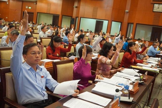 Tại kỳ họp, HĐND TPHCM thông qua 23 nghị quyết quan trọng