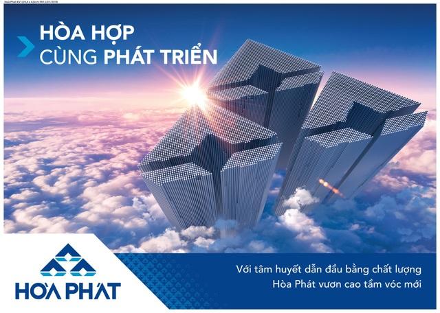 Hòa Phát tiếp tục thăng hạng trong Top 500 DN lớn nhất Việt Nam - 1