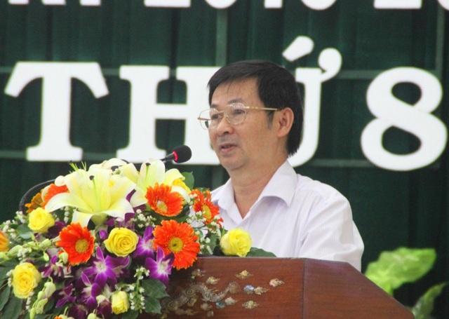 Ông Đặng Trung Thành - Giám đốc Sở TN&MT Bình Định trả lời chất vấn của đại biểu HĐND