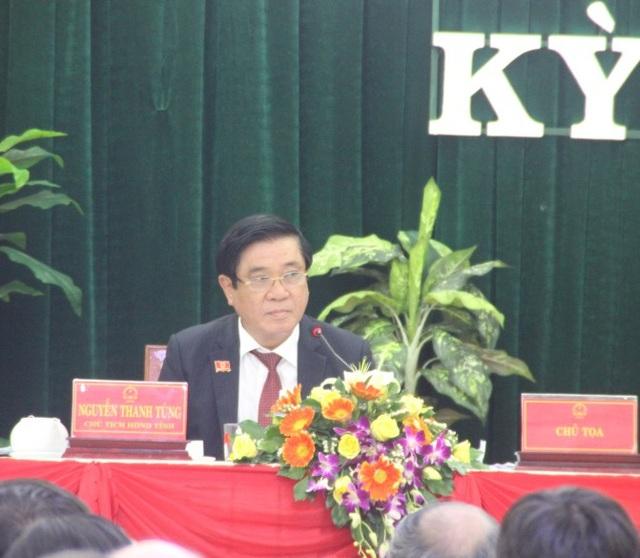 Bí thư Tỉnh ủy Bình Định Nguyễn Thanh Tùng truy trách nhiệm Giám đốc Sở TN&MT tỉnh.