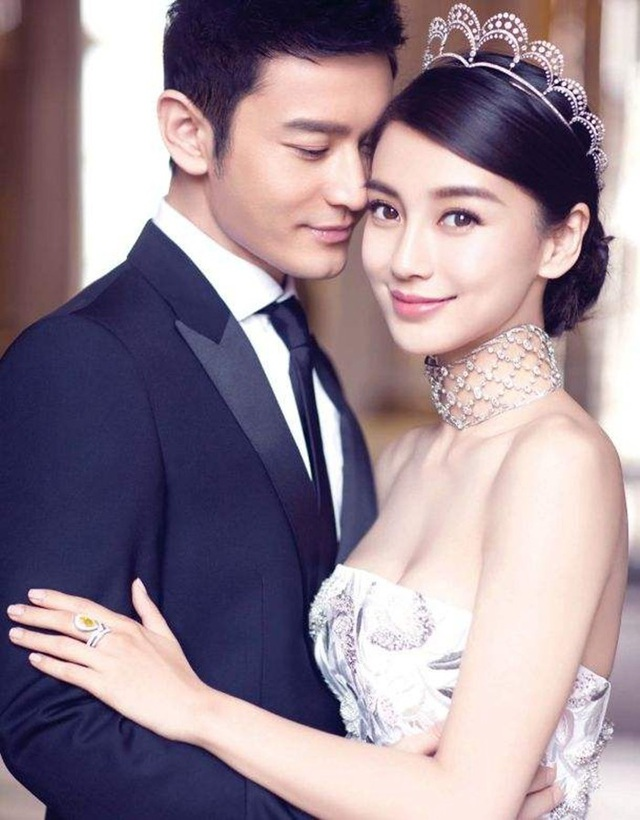 Huỳnh Hiểu Minh và Angelababy đã phải lên tiếng phủ nhận sau một thời gian im lặng trước thông tin ly dị.