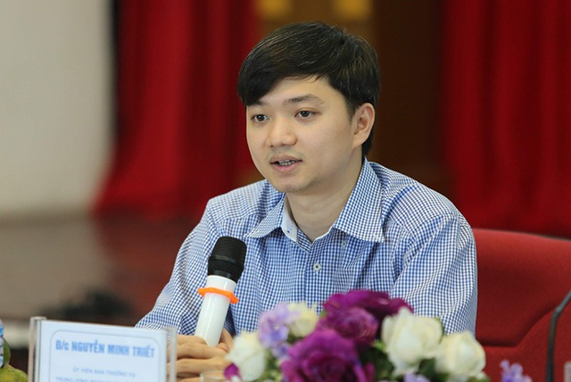 Anh Nguyễn Minh Triết, Phó Chủ tịch thường trực Hội Sinh viên Việt Nam.