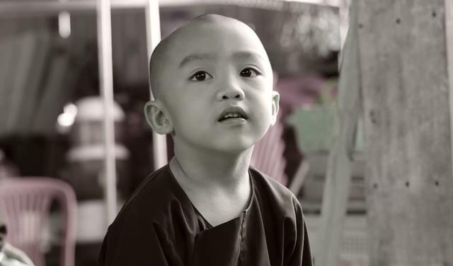 Chân dung cậu bé Pháp Tâm đáng yêu trong vai sư phụ Đường Tăng đã nhận được nhiều tình cảm của khán giả.