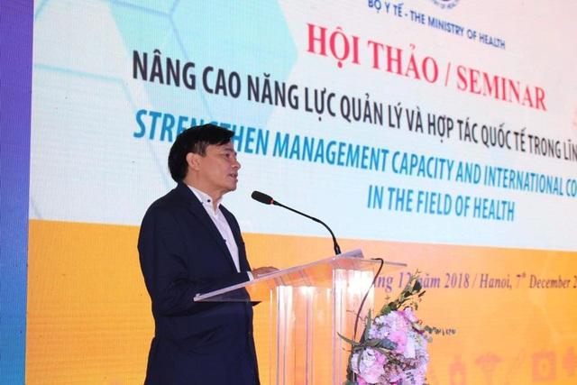 Ông Nguyễn Đình Anh, Vụ trưởng Vụ Truyền thông và Thi đua, khen thưởng (Bộ Y tế).