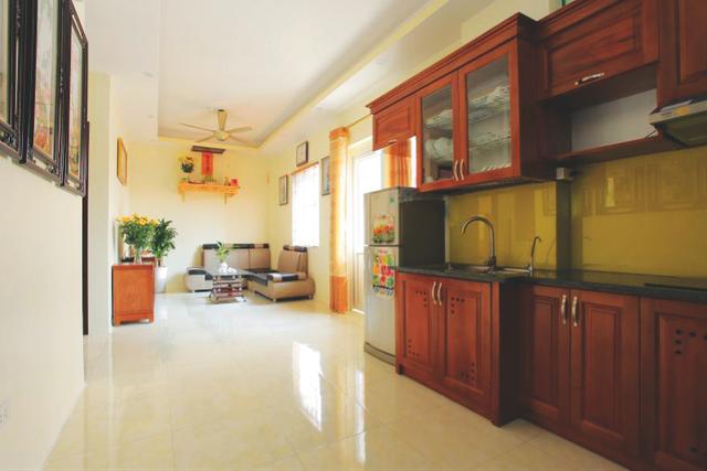 Hình ảnh thực tế tại một căn hộ của tòa M3.2 dự án P.H Center Hưng Yên