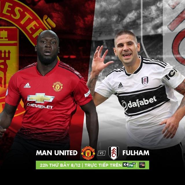 Liệu Quỷ Đỏ có tìm lại được cảm giác chiến thắng trước Fulham? Đón xem vào lúc 22h00 ngày 8/12 trên K+