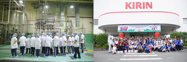 Nhà máy sản xuất của tập đoàn KIRIN tại Việt Nam sở hữu công nghệ hiện đại theo tiêu chuẩn Nhật Bản