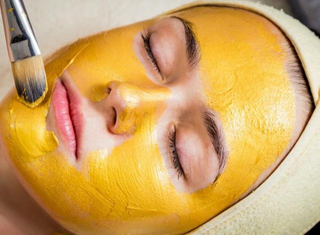 Tinh bột nghệ vừa làm sáng da bị nám vừa giúp chống viêm da