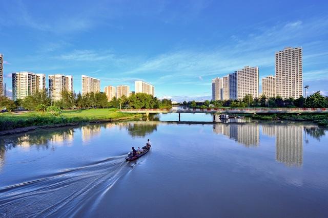 Đô thị Phú Mỹ Hưng tại Q.7 là số ít đô thị nhận được đánh giá cao của giới chuyên gia quốc tế và trong nước về quy hoạch và định hướng phát triển bền vững trong cơ cấu bảo vệ môi trường.
