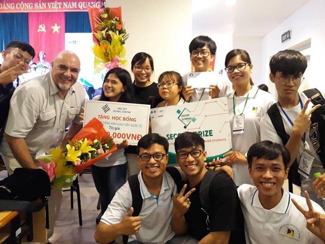 Đội ĐH Bách khoa (ĐH Đà Nẵng) là một trong hai đại diện của khu vực miền Trung dự Vòng chung kết toàn quốc ProE Contest 2018. (ảnh BTC)