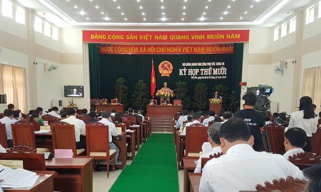 Phiên chất vấn HĐND tỉnh Phú Yên