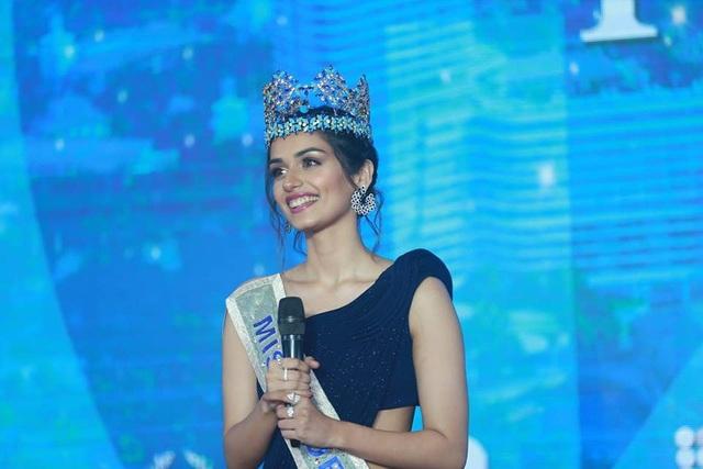 Hoa hậu thế giới 2017 Manushi Chhillar