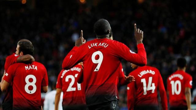 Lukaku đã có bàn thắng vào lưới Fulham