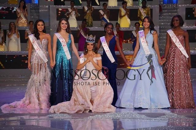 Top 5 người đẹp nhất cuộc thi Hoa hậu thế giới 2018