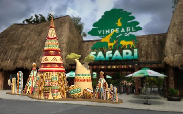 Đón Giáng sinh theo phong cách Châu Phi thực thụ tại Vinpearl Safari Phú Quốc