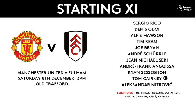 Man Utd 4-1 Fulham: Tiệc bàn thắng ở Old Trafford - 11