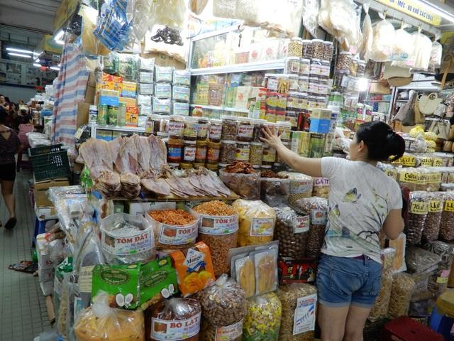Đề án thí điểm dán tem truy xuất nguồn gốc thực phẩm (QR code) tại chợ Hàn đã thu hút nhiều tiểu thương tham gia