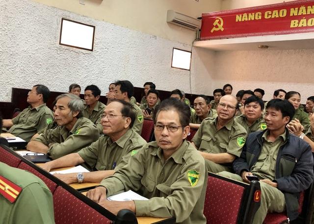 Đại diện các lực lượng 8394 của Đà Nẵng tham dự Hội nghị