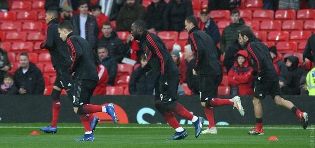 Lukaku (giữa) trở lại đội hình xuất phát