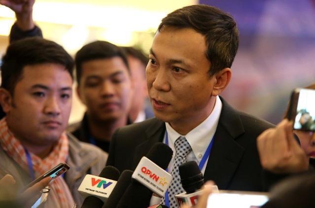 Ông Trần Quốc Tuấn tái đắc cử chức Phó Chủ tịch VFF khóa VIII - Ảnh: Gia Hưng