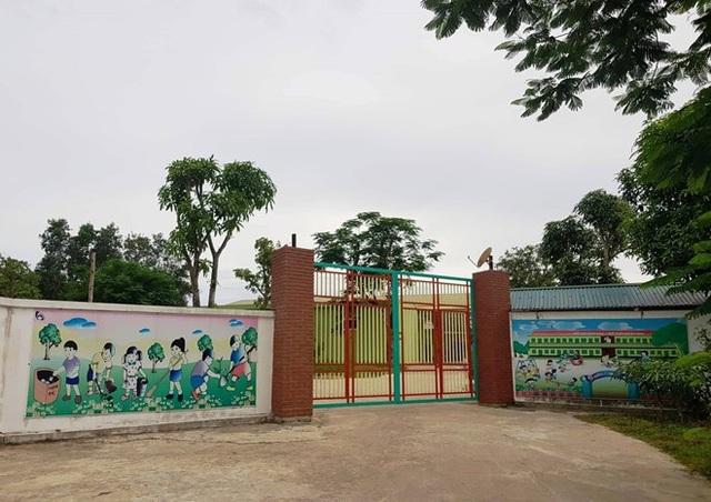 Nhà đầu tư Cty Minh Sang đã xây dựng cơ sở Mầm non Tuổi Thơ Thanh Chương tại thị trấn Thanh Chương. Ảnh: PV
